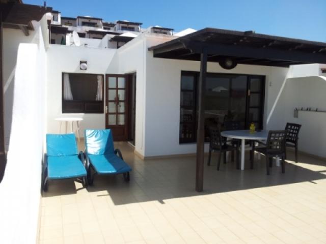 The terrace - 27 Lago Verde, Puerto del Carmen, Lanzarote